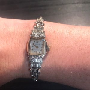 Carrington 17 jewels watch with 10k gold fill band
